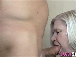 tit-banging british grandmother