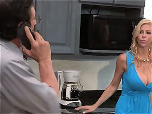 A tiny help from my buddies part 4 with frolic cougar Alexis Fawx five