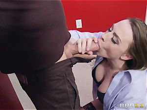 Married damsel Chanel Preston gets titfucked and her vulva boning by thief