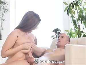 PORNPROS soaking raw coochie porked with Lena Paul