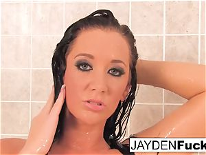 busty Jayden Jaymes Takes A red-hot long douche