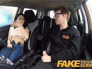 fake Driving college half chinese tiny student fucks