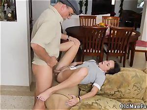 My nubile neighbor inexperienced riding the older penis!