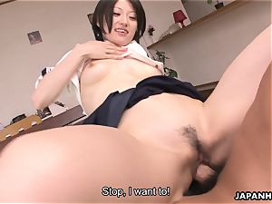 cute and super-cute chinese cockslut getting drilled real rock-hard