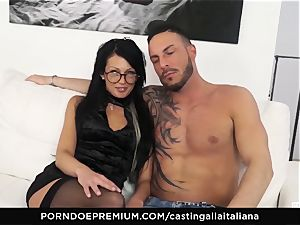 audition ALLA ITALIANA - insane sex with local amateur