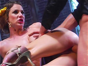 Kayla Paige takes this firm man meat deep in her wet slot