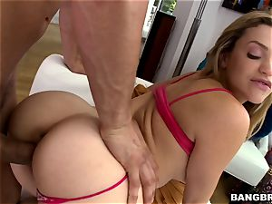 super-hot butt ash-blonde Mia Malkova craving knob