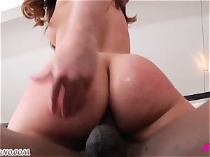 Maddy O'Reilly - My hot fuck-hole well-prepped for your yam-sized black manstick
