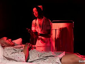 Behind the episodes with cool nurse skin Diamond