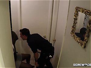milky Cops poke black teen