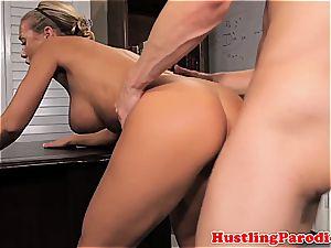 Nicole Aniston seducing scotts cock