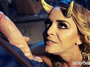 nailing that super-hot wild satan Liza Del Sierra