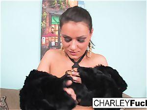 Charley flashes off her splendid figure