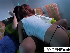 Jayden Jaymes and Jayden Cole get insane