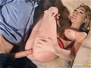 Lily Labeau takes on the monster spunk-pump of porn set PA