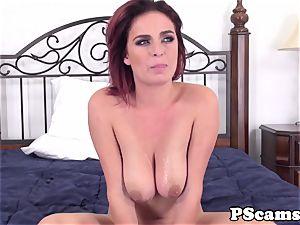 sandy-haired webcam babe Ashlee Graham cockriding