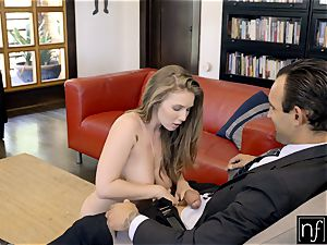 lucky boy Gets perfect assets Lena Paul For Night S7:E3