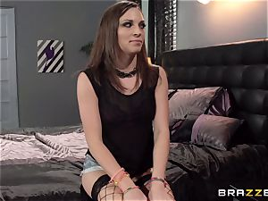 nanny Lily enjoy gets plumbed by Elexis Monroe