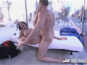 impressive Dolly Diore is turned on by romp Truck