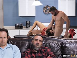 internal ejaculation surprise with Ariella Ferrera