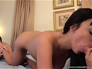 Anissa Has Her spouse gargle stiffy While She bangs