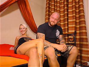 SEXTAPE GERMANY - Alternative German ash-blonde plumbed deep
