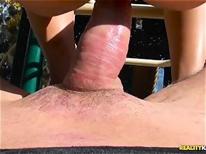 Blair Williams playground warm fuck