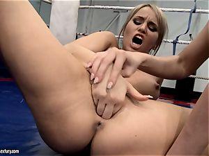 Aleksa Diamond and Larissa Dee tickle their fancy