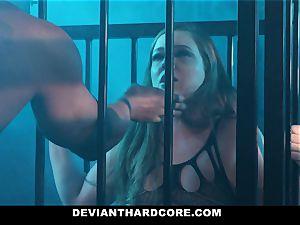 DeviantHardcore - caged bi-atch Gets predominated By bbc