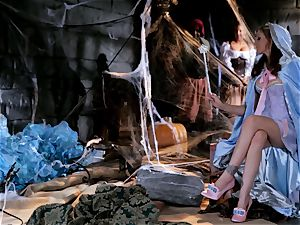 fairy godmother Julia Ann grants a cocks desire