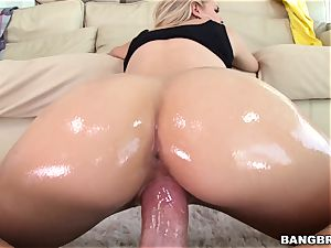 Jessa Rhodes is lubricated up and prepped to be penetrated