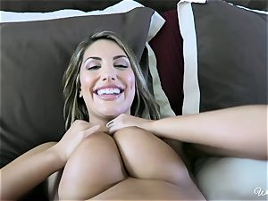 August Ames and Kenna James getting tasty on web cam