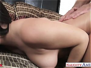 special Keisha Grey blows and ravages his hefty penis