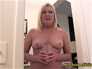 mummy Plays with Herself The Has piss piss play Time