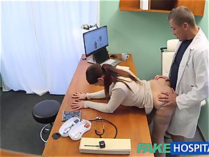 FakeHospital doctor gets splendid patients cootchie moist