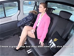 boned IN TRAFFIC - steamy Czech babe screwed in the car