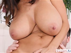 Ava Addams porked on the bed