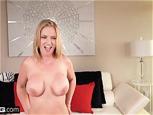 Real milfs - fat titty milf pov with Rachael Cavalli