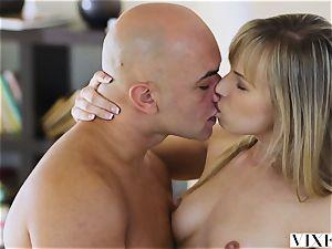 VIXEN young light-haired teenage likes lovemaking