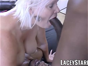 LACEYSTARR - bbc dual team works on super-naughty grandma