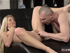 blond strap on dildo hard-core She is so marvelous in this brief skirt