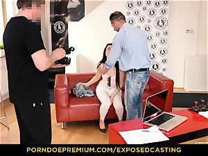 uncovered casting - Taissia Shanti porked stiff in her rump
