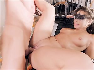 Abella Danger gets poked by a horny rock-hard gladiator