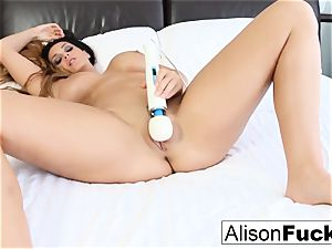 Alison Tyler teases with her wand