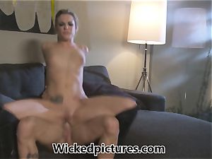 Rampant role have fun for Bailey Blue and a hot guy