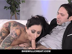 SheWillCheat - whore wifey bootie banged by buddy