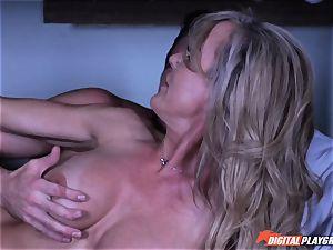cougar Brandi love secretly sucking fuck-stick
