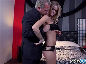 Jessa Rhodes tastey cock-squeezing cunt is screwed by a large boner