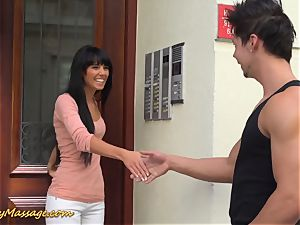 lubricious nuru massage with Gina Devine