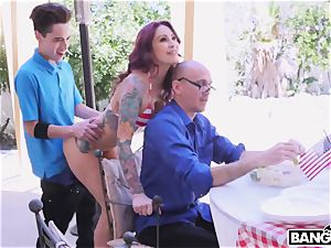 OMG! My tatted stepmother and her trampy daughter-in-law want my manmeat